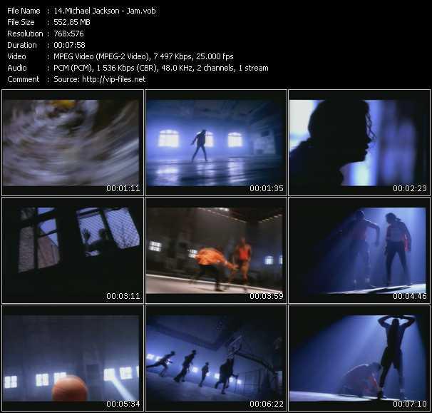 video Jam screen