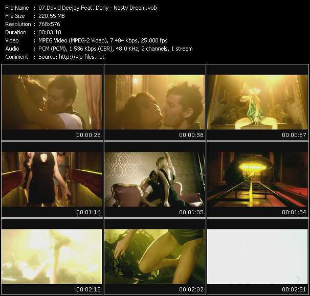 David Deejay Feat. Dony video screenshot