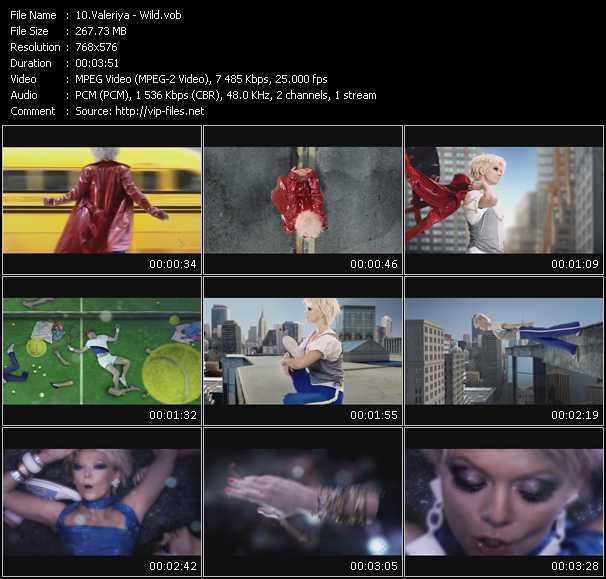 Valeriya video screenshot