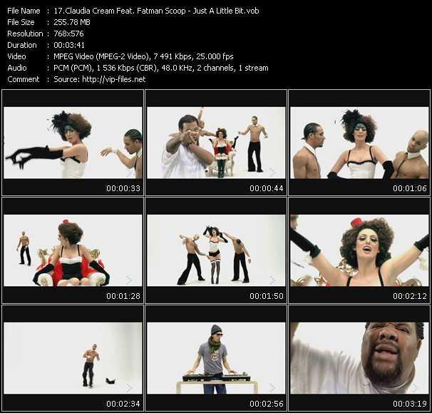Claudia Cream Feat. Fatman Scoop video screenshot