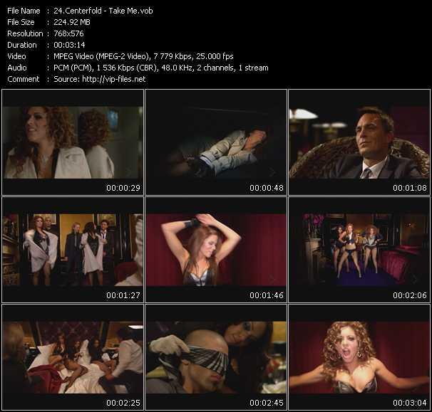 Centerfold video screenshot