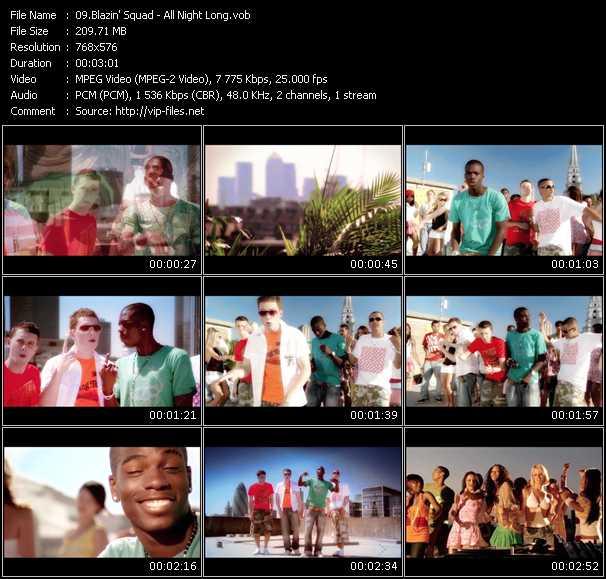 Blazin' Squad video screenshot