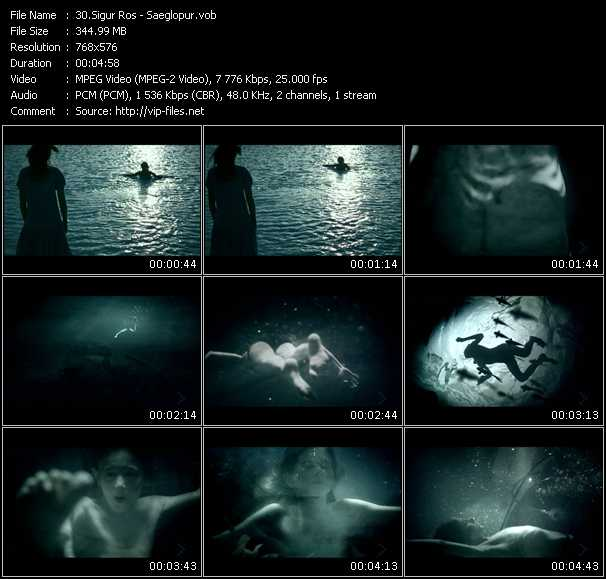 Sigur Ros video screenshot