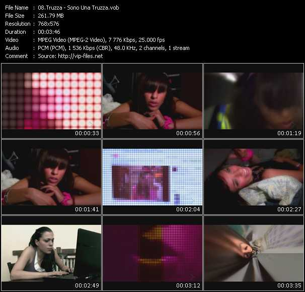 Truzza video screenshot