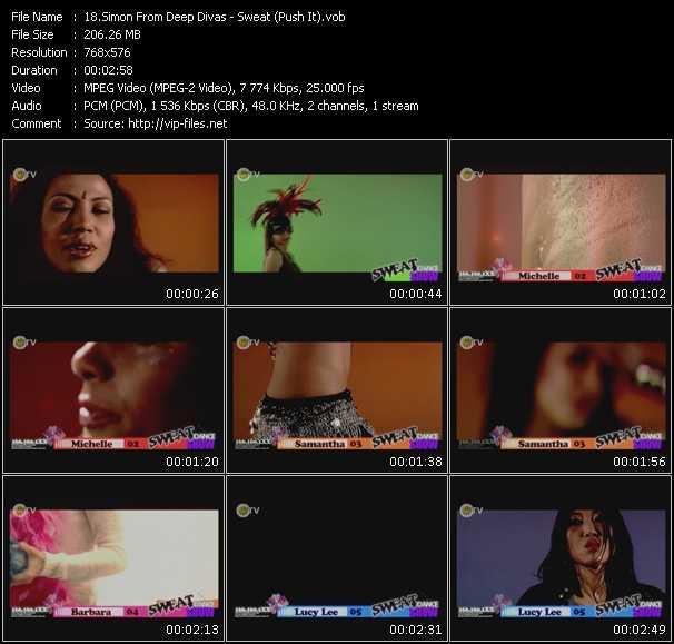 Simon From Deep Divas video screenshot