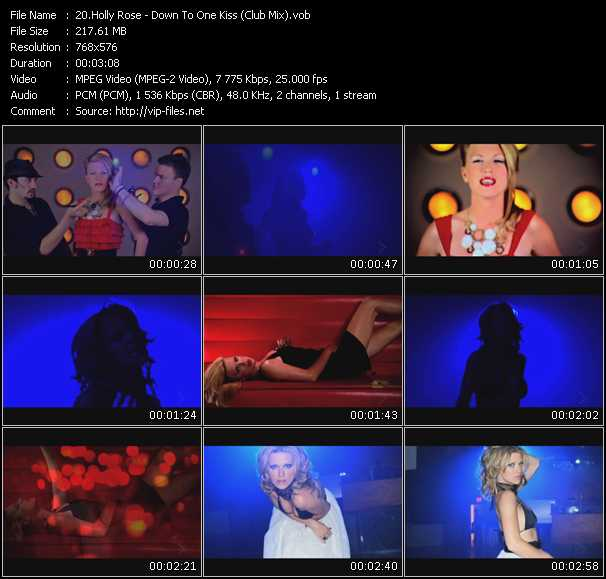 Holly Rose video screenshot
