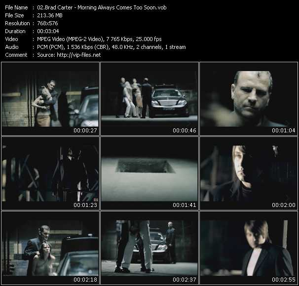 Brad Carter video screenshot