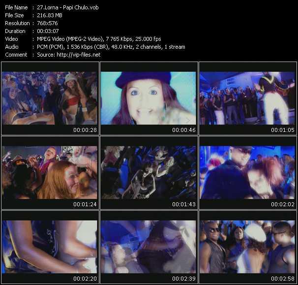 Lorna video screenshot