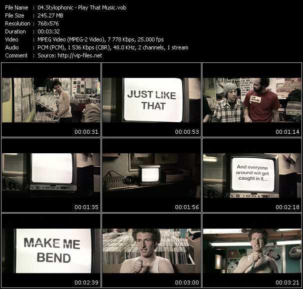 Stylophonic video screenshot
