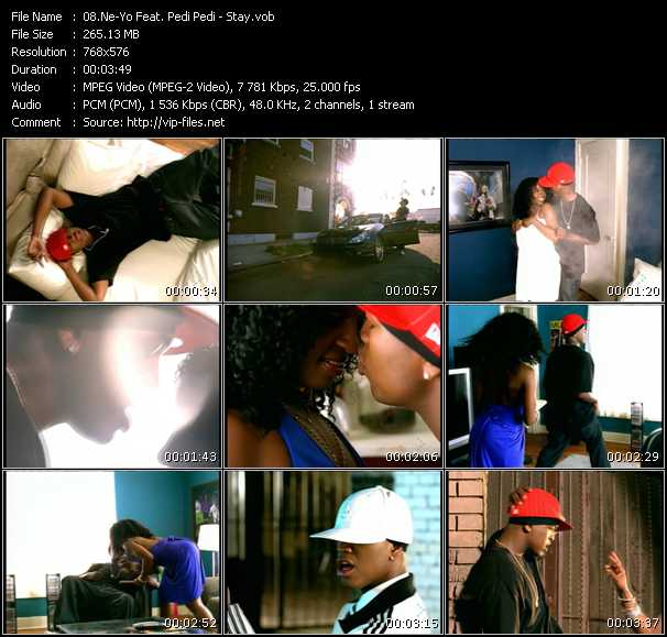 Ne-Yo Feat. Pedi Pedi video screenshot