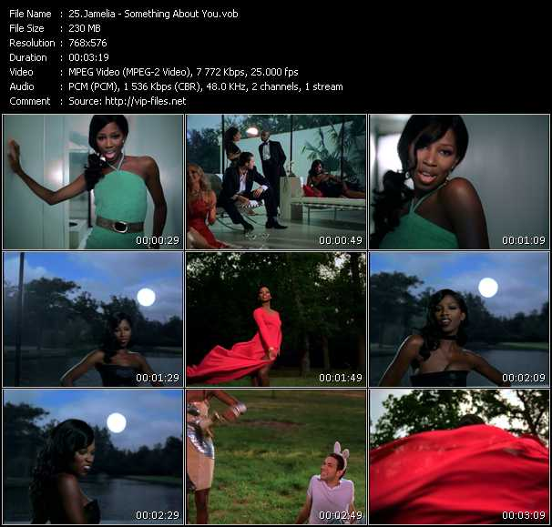 Jamelia video screenshot