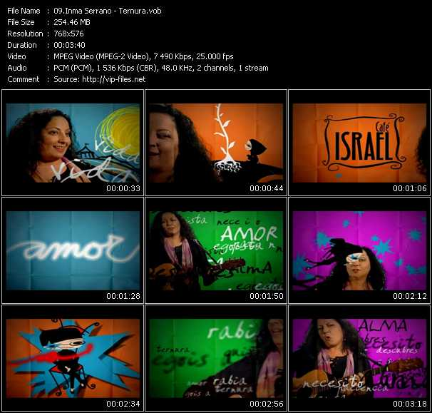Inma Serrano video screenshot