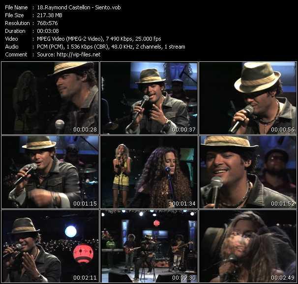 Raymond Castellon video screenshot
