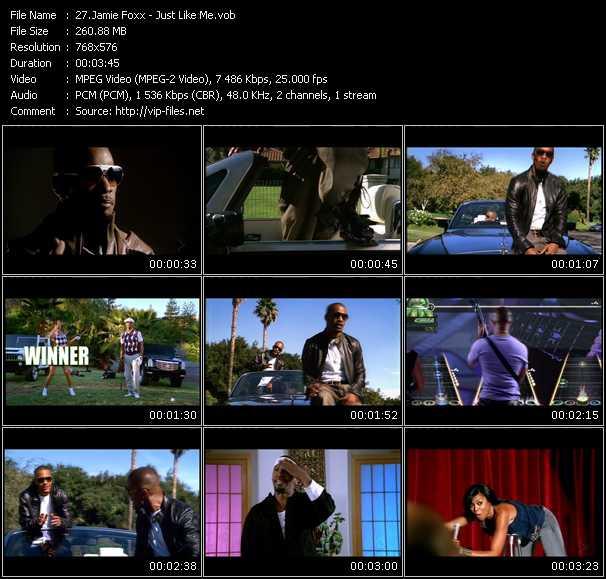 Jamie Foxx video screenshot