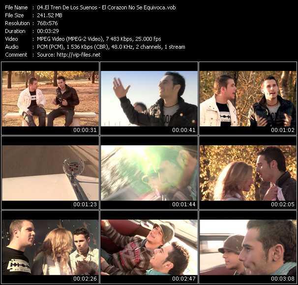 El Tren De Los Suenos video screenshot