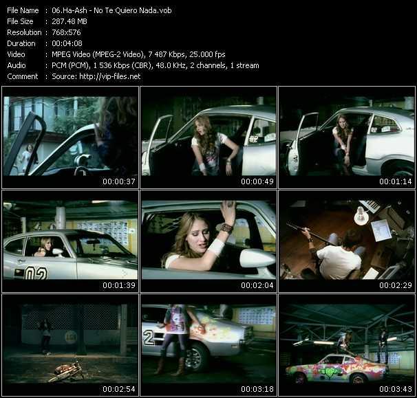 Ha-Ash video screenshot