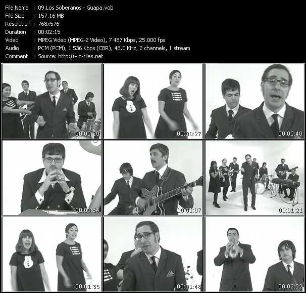 Los Soberanos video screenshot