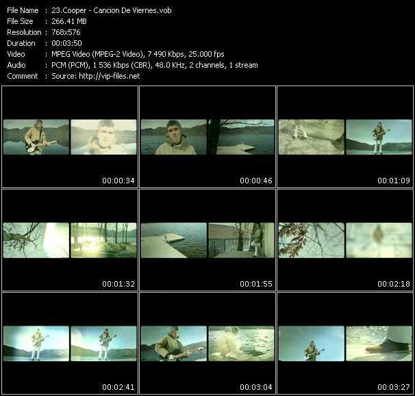 Cooper video screenshot