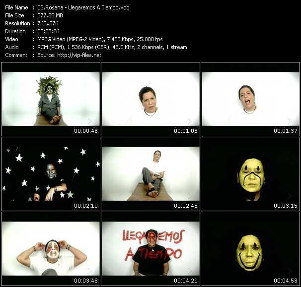 Rosana video screenshot