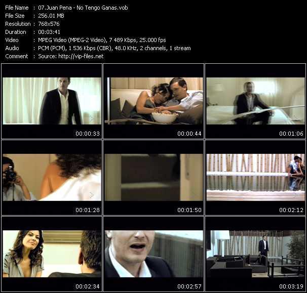 Juan Pena video screenshot