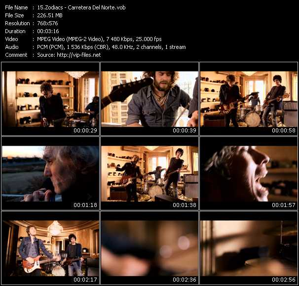 Zodiacs video screenshot