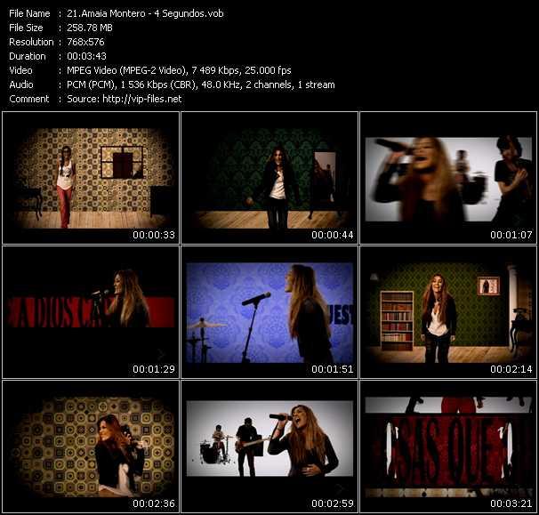 Amaia Montero video screenshot