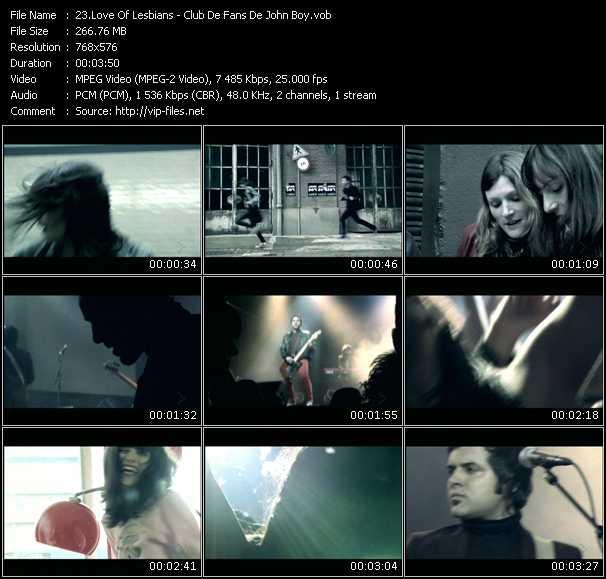 Love Of Lesbians video screenshot