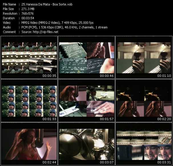 Vanessa Da Mata video screenshot