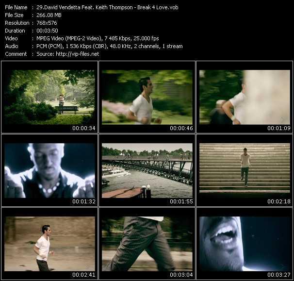David Vendetta Feat. Keith Thompson video screenshot