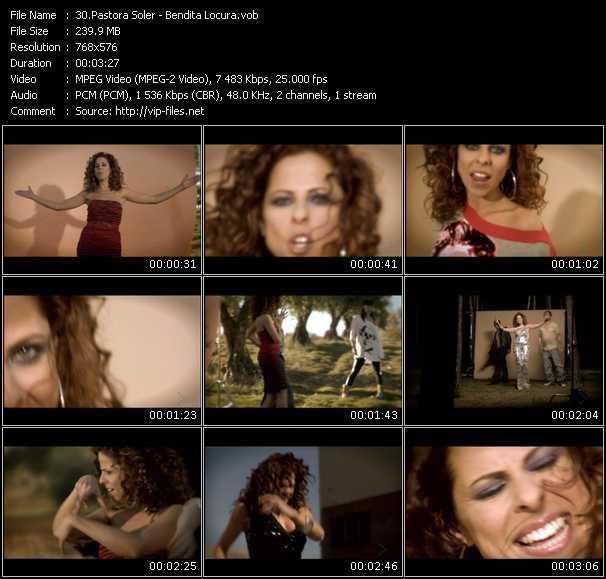 Pastora Soler video screenshot