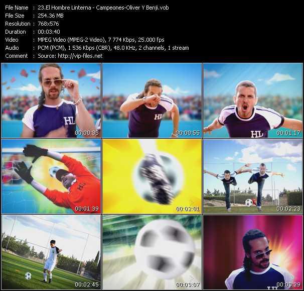 El Hombre Linterna video screenshot