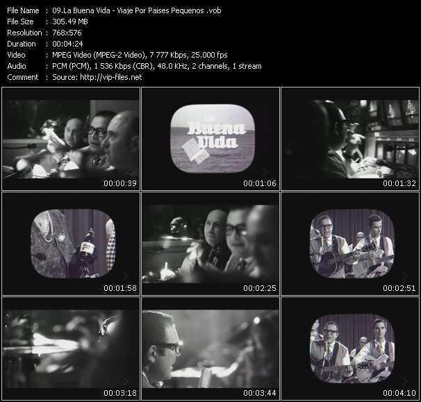 La Buena Vida video screenshot