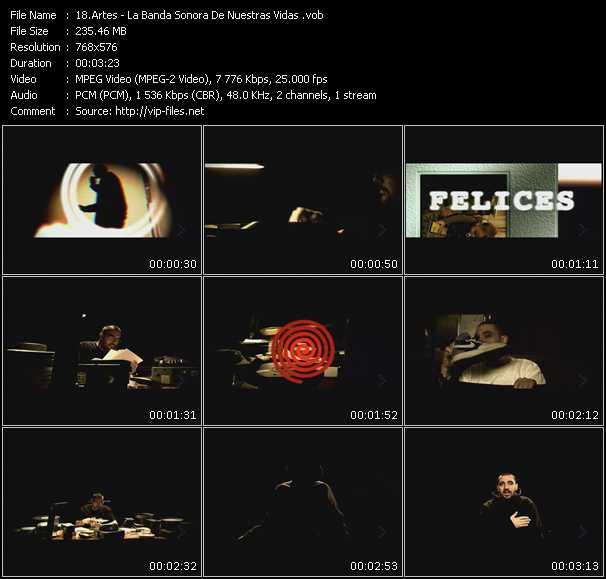 Artes video screenshot