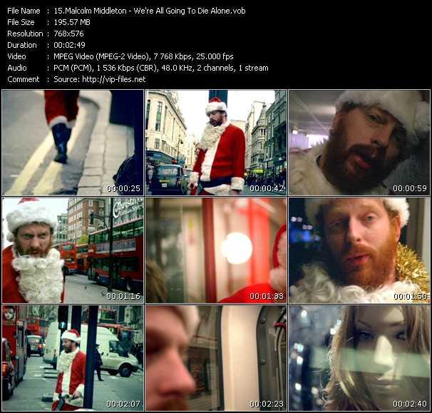 Malcolm Middleton video screenshot