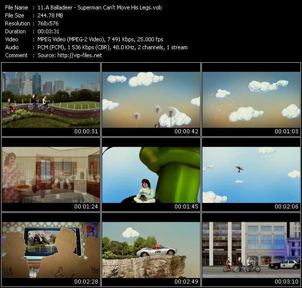 A Balladeer video screenshot