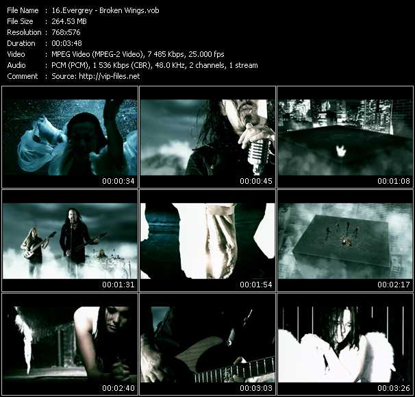 Evergrey video screenshot