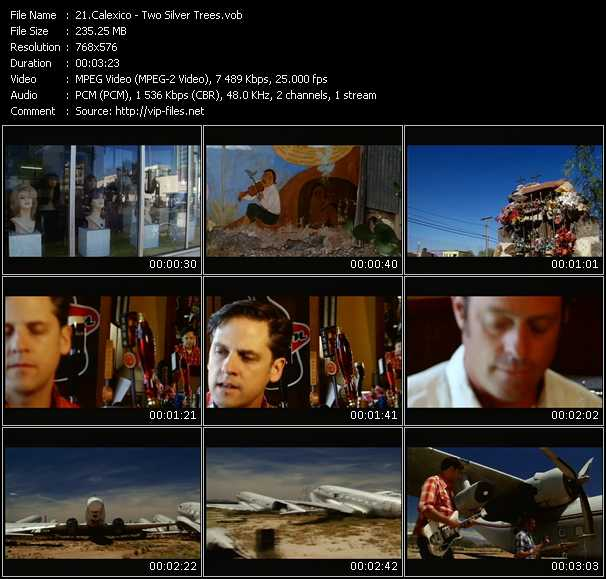 Calexico video screenshot