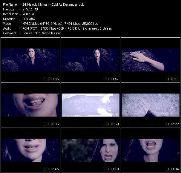Melody Klyman video screenshot