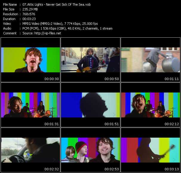 Attic Lights video screenshot
