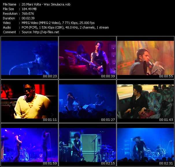 Mars Volta video screenshot