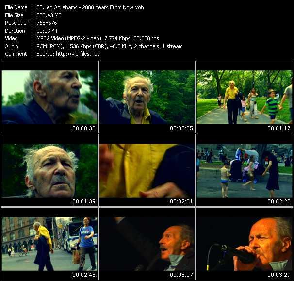 Leo Abrahams video screenshot