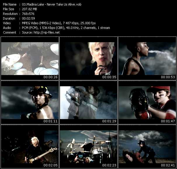 Madina Lake video screenshot