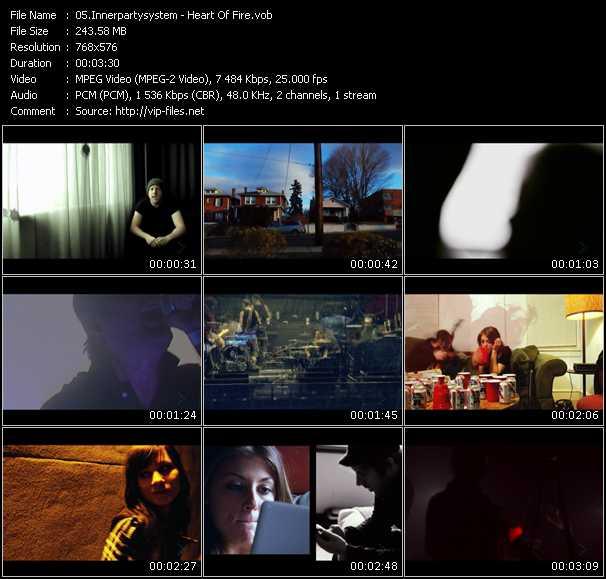 video Heart Of Fire screen