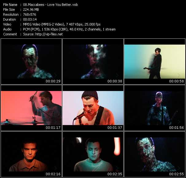 Maccabees video screenshot