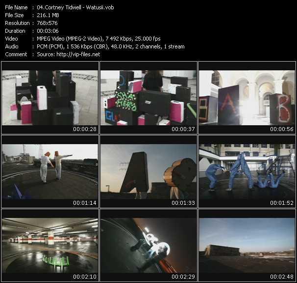 Cortney Tidwell video screenshot