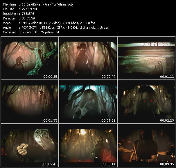 DevilDriver video screenshot