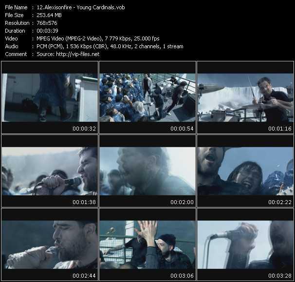 Alexisonfire video screenshot