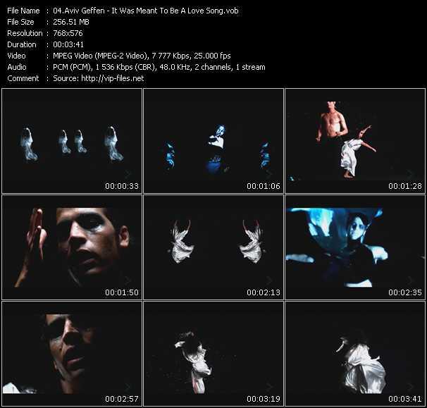 Aviv Geffen video screenshot