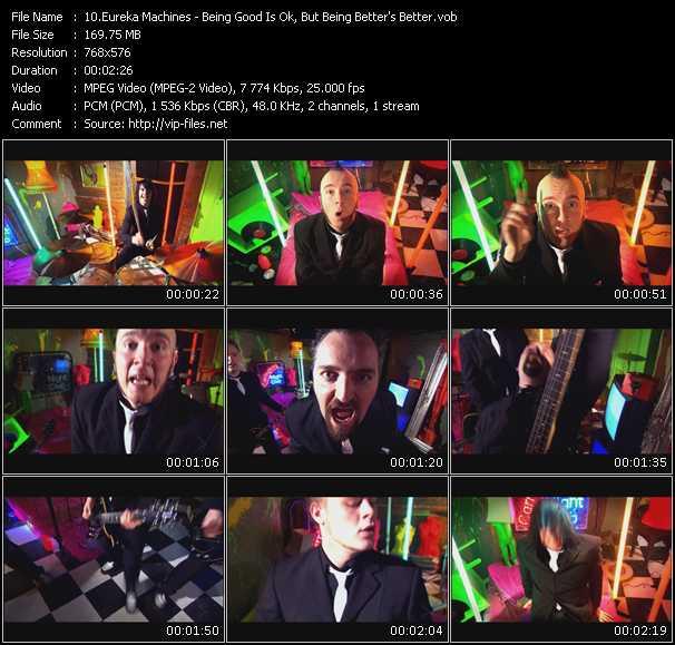 Eureka Machines video screenshot