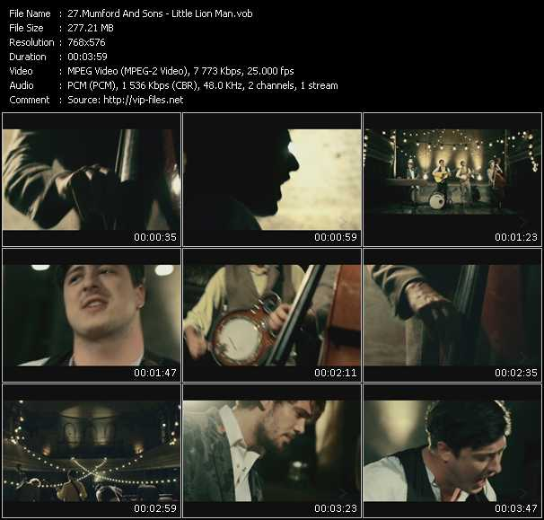 Mumford And Sons video screenshot